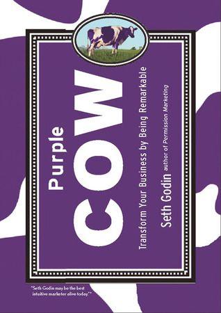 'Purple Cow' de Seth Godin #livros #criatividade #leiturascriativas