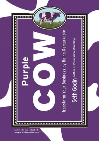 The Purple Cow: Transform Your Business By Being Remarkable by Seth Godin – 40 High-Impact Books for Entrepreneurs [Giveaway] #Shopify