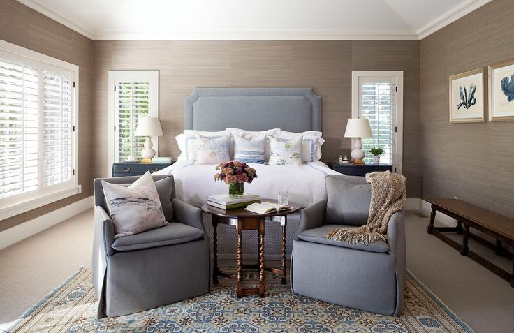 A bedroom isn't complete without an area for unwinding with a a good book or a stack of your favorite magazines. Get into relaxation mode with these cozy bedrooms that feature chaises, sofas, and lounge chairs that are made for reading.