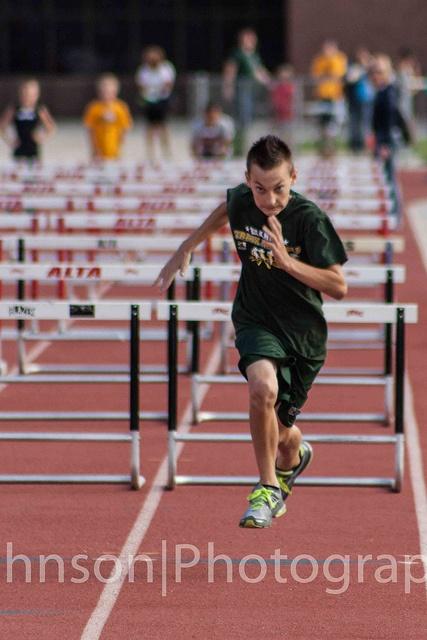 Zach finishing the hurdles by georgechristopherjohnson, via Flickr