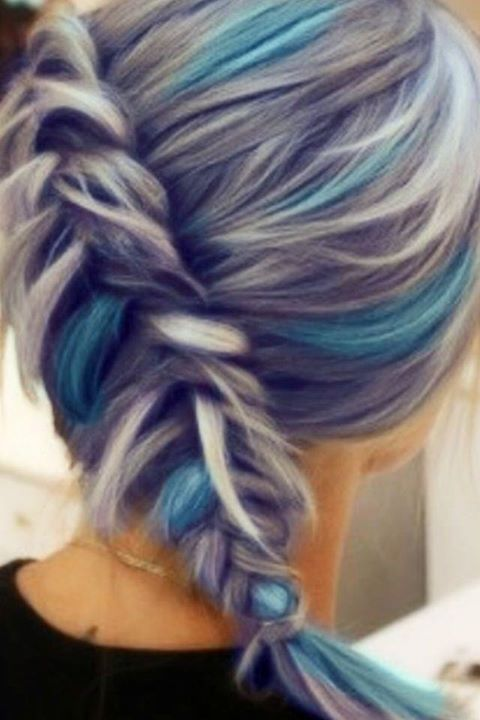 17 meilleures id es propos de cheveux bleu violet sur. Black Bedroom Furniture Sets. Home Design Ideas