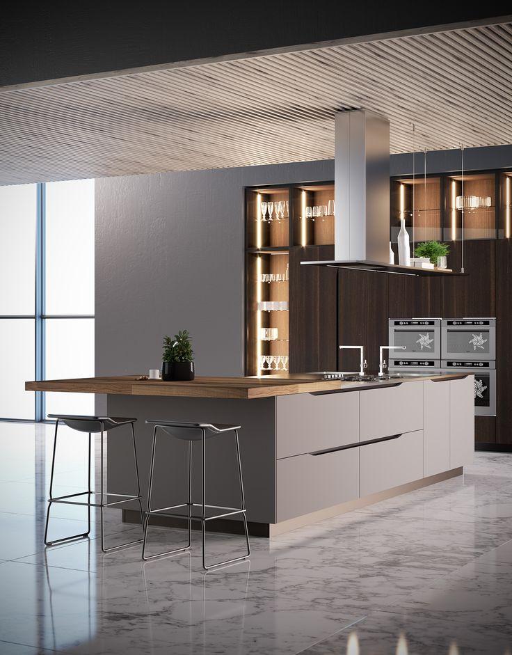 Interior Kitchen 2016 On Behance ContemporaryHouse Architecture MicrowaveNorfolkDesignsDining RoomsKitchensInteriorsInterior Design