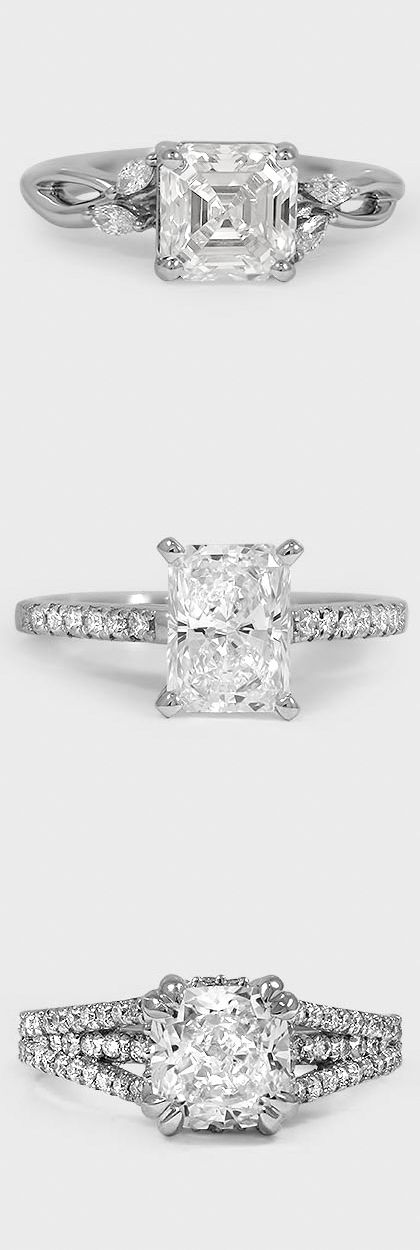 Our recently purchased engagement ring collection displays our signature styles set with shimmering diamonds. Shop our gorgeous engagement ring collections now!