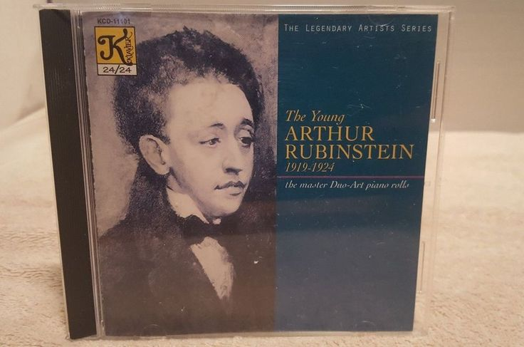 The young Arthur Rubinstein, 1919 - 1924: the master Duo-Art Piano rolls (CD, Kl #NocturnePreludeRhapsodySuite