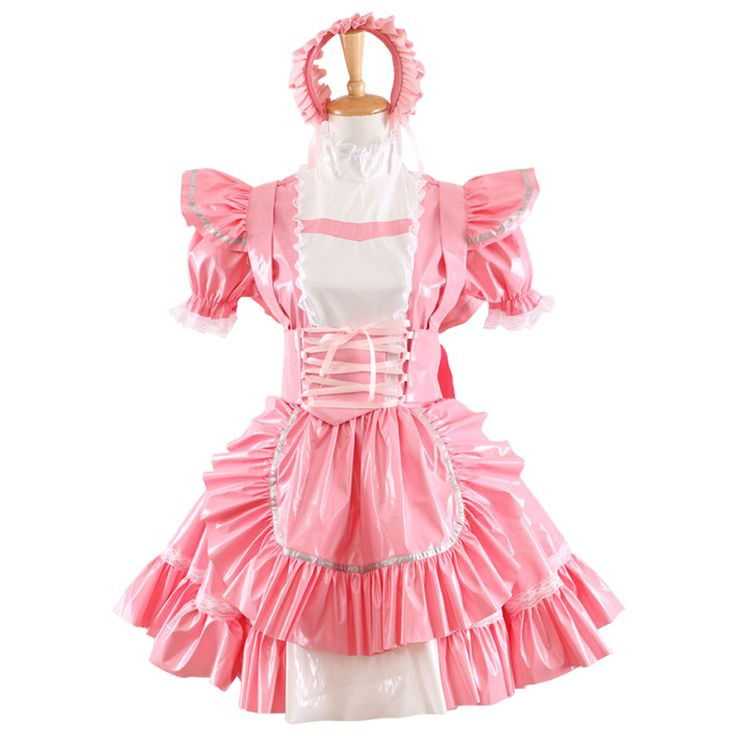 Hot Sale PVC Sissy Maid Dress Uniform Cosplay Costume Lolita Dress #Sissy maids http://www.ku-ki-shop.com/shop/sissy-maids/hot-sale-pvc-sissy-maid-dress-uniform-cosplay-costume-lolita-dress/