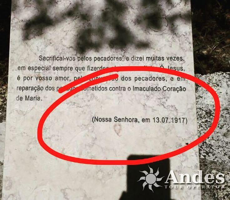 Hoje, completa 100 anos desta data!! 🙏⛪👆 #TurismoReligioso #NossaSenhora #turismo #AndesTur #AndesPorAí #bestdiscovery #tourism