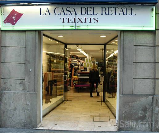 La casa del Retal C/Roger de Lluria, 9 Barcelona. Fabric at good prices