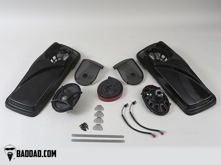 Bad Dad | Custom Bagger Parts for Your Bagger | Complete Speaker Lid Package 1993-2013