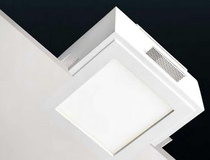 aplique techo de yeso bajo consumo o led