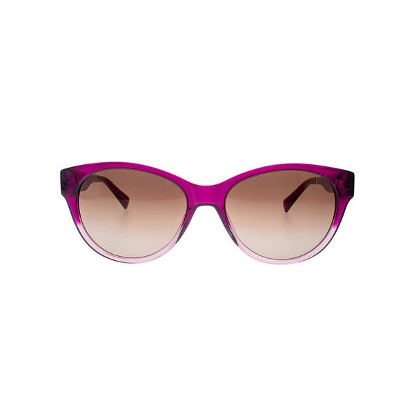 Fuchsia to Rose Gold Gradient,Shiny Fuchsia to Rose gold gradient Acetate Front,Butted End piece,Shiny Fuchsia leather texture Temple, Muave gradient Lens with