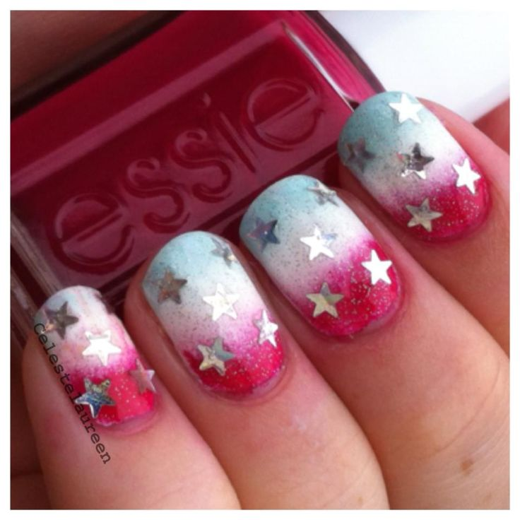 fourth of july nails - Little Girl Nail Design Ideas