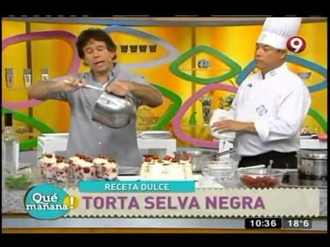 Torta selva negra - YouTube