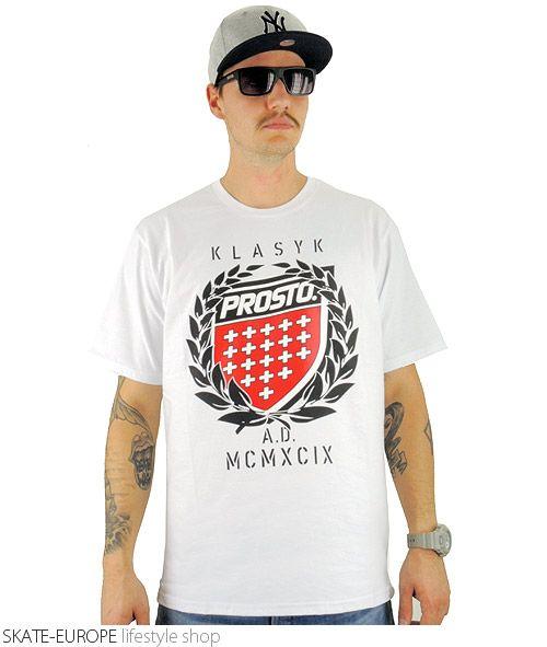 Koszulka PROSTO KING white