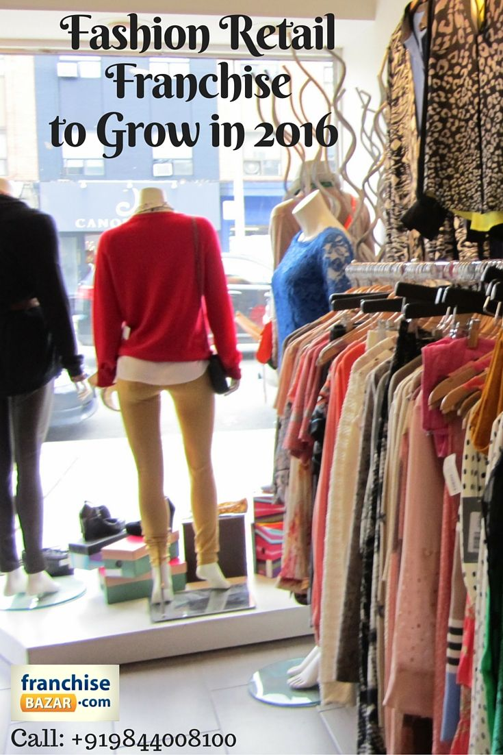 Clothing store franchise opportunities