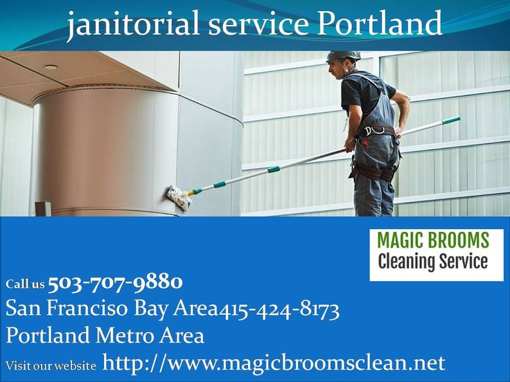 janitorial service portland- Maggic Brooms Cleaning    we provide you best and quality janitorial service portlan area we will work until our job is done with your setisfication for more information visit our webisite http://www.magicbroomsclean.net