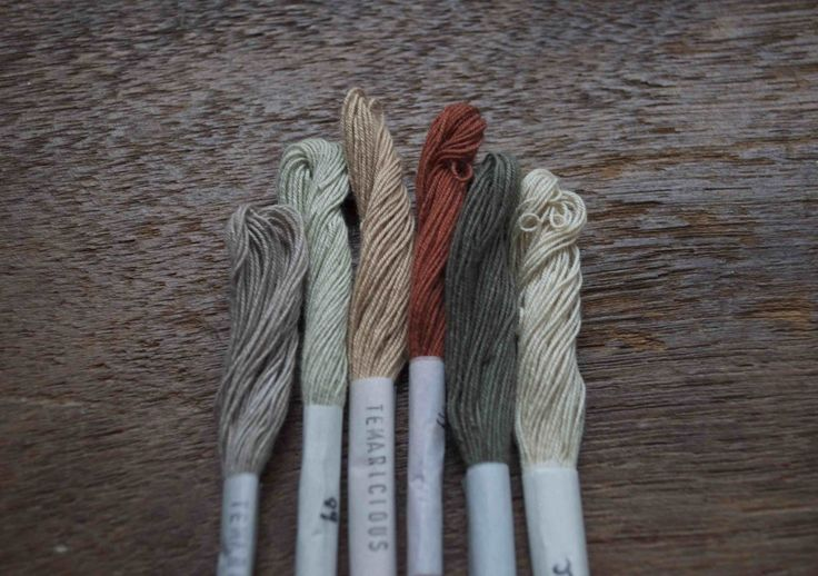 Temaricious Hand Dyed Cotton Threads, Loop London