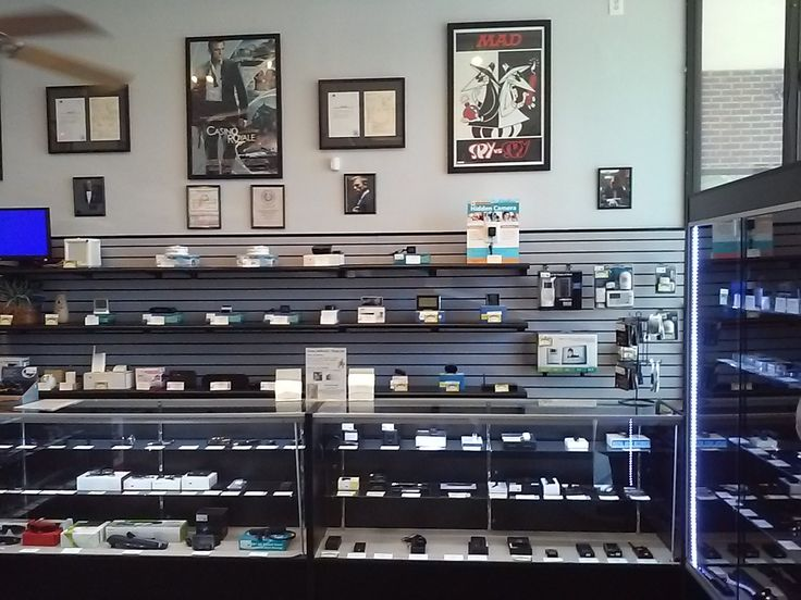 A nice shot of the different hidden cameras we offer.