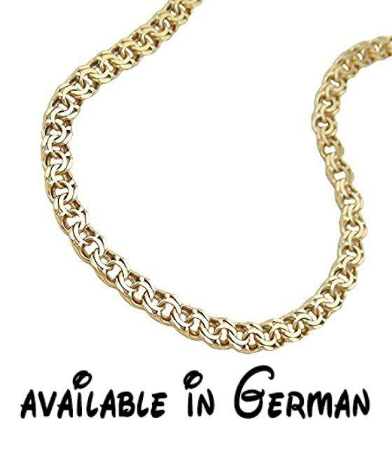 Dreamlife Figarokette Armband, 18cm, Fantasie, 14Kt GOLD. Legierung: 585/000 Gold, 14 Karat. Verschluss: Karabiner. Länge: 18cm #Jewelry #FINENECKLACEBRACELETANKLET