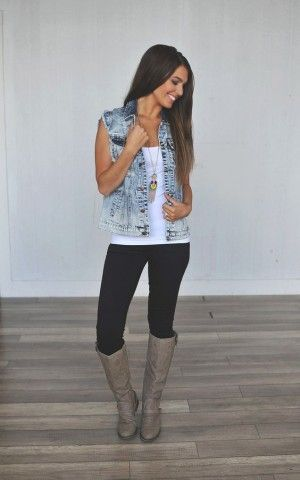 botas chica outfit