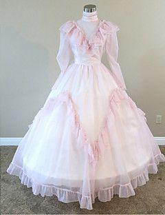 steampunk®mid del 19 ° secolo pesca guerra civile vestito reenactment meridionale abito da ballo belle
