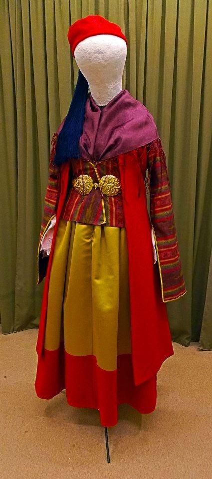 Female costume from Leonidio - Greece.