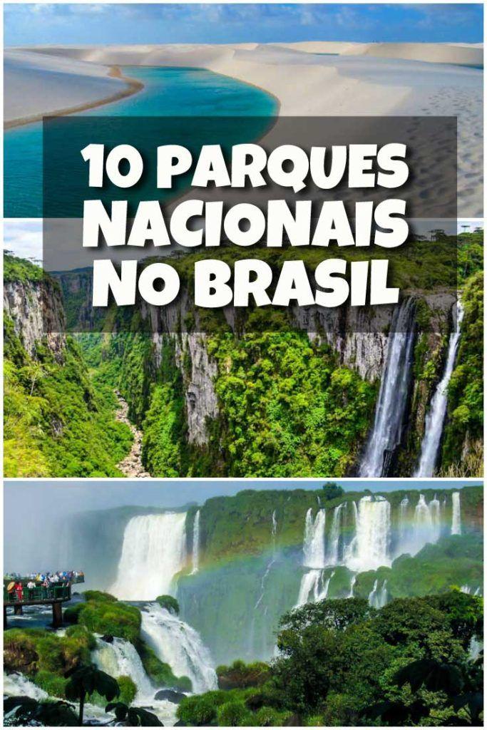 Confira 10 parques nacionais no Brasil que você precisa conhecer