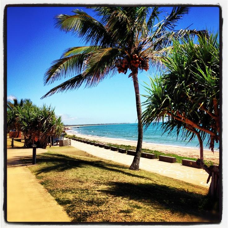 Main beach, Yeppoon, Queensland, Australia.   Love it here! We had the most beautiful morning walk and breaky here.