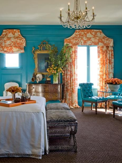 17 best images about window treatments on pinterest - Curtains with orange walls ...
