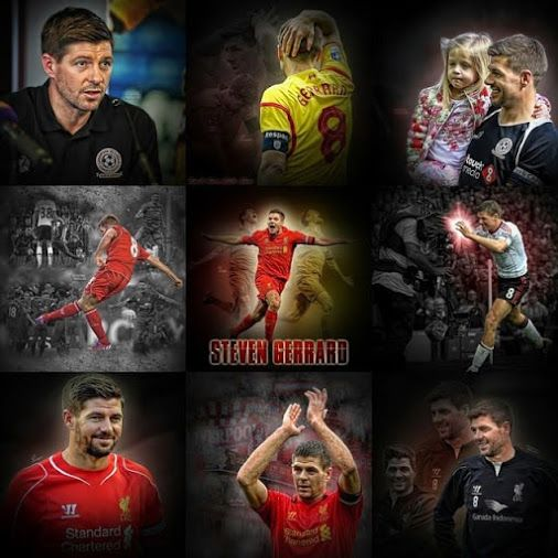 Countdown to Steven Gerrard's final appearances for the Reds. YNWA.