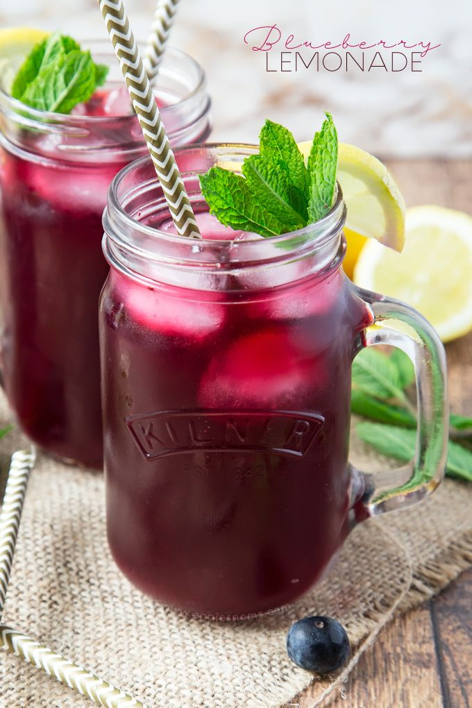 Blueberry Lemonade | Annie\\'s Noms on MyRecipeMagic.com