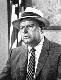 Parley Baer (August 5, 1914 – November 22, 2002). Born in Salt Lake City, UT. Served in the Army Air Corps in the Pacific in WW II earning seven battle stars. Attained rank of captain. Radio and television actor best known for his roles in The Andy Griffith and Dennis the Menace television series.