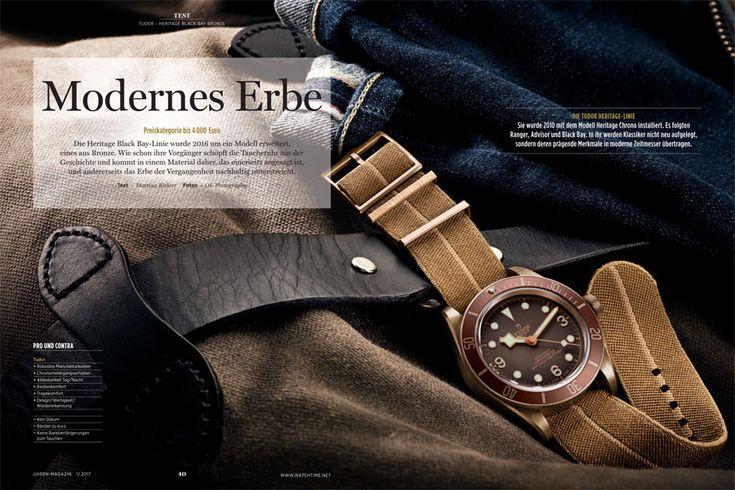 Retro-Taucheruhr – die Tudor Heritage Black Bay Bronze » Das Uhren Portal: Watchtime.net