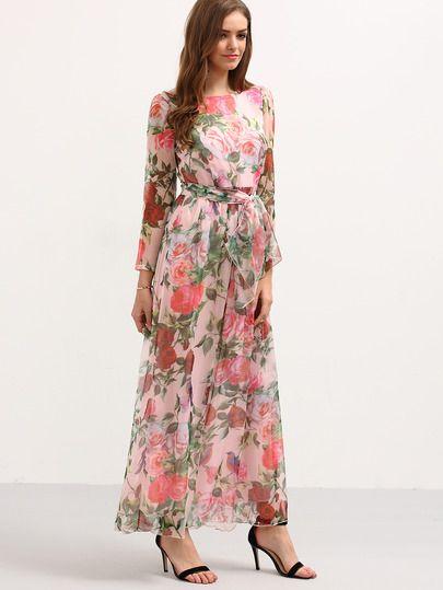 10  ideas about Long Sleeve Chiffon Dress on Pinterest  Chiffon ...