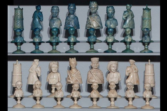 Encore! Ivory Chess Treasures from the Jon Crumiller Collection | World Chess Hall of Fame