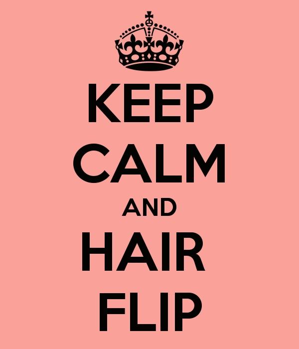 """Its a hairflip! Its whatever!""- Chris Crocker"