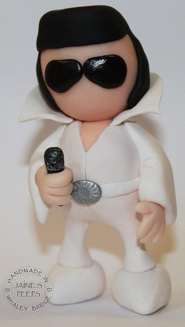 Elvis Presley by Jaine's Peeps, via Flickr
