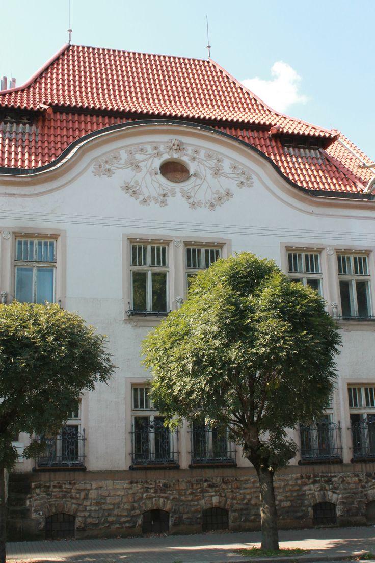 Dům generála Hoppeho          místo: Vysoké Mýto   autor: Ladislav Skřivánek                     realizace: 1905