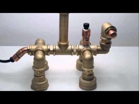 Φωτιστικά από υδραυλικά εξαρτήματα