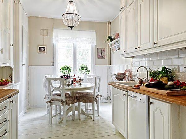 kitchen & dinning | Heart Handmade UK: Romantic Small Apartment Style