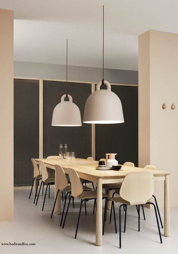 Dining Room table - Bell lamp - SMALL