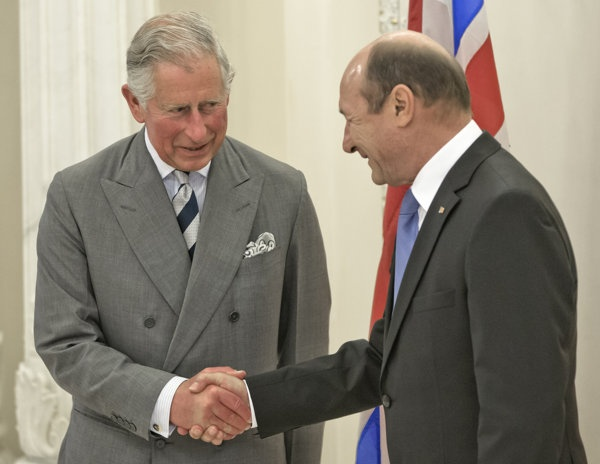 Prince Charles visits Romania ~Prince Charles meets with Romanian president as part of visit. Charles has a well-documented love for Transylvania, which he visits yearly and where he owns several properties. He says he is a descendant of Vlad the Impaler, the bloodthirsty 15th-century prince who inspired the Dracula novel