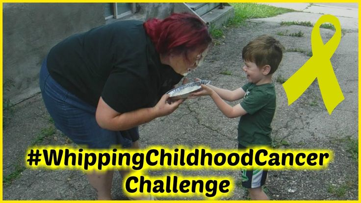 #WhippingChildhoodCancer Challenge!!