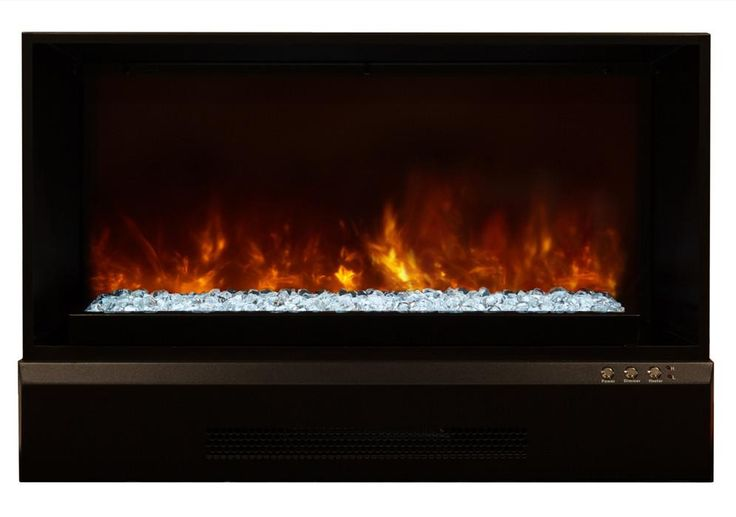 Modern Flames Indoor Zero Clearance Electric Fireplace Insert ZCR-3824