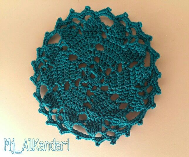 Hearts Desire Doily free pattern by redheart. Nice and easy to crochet ❤