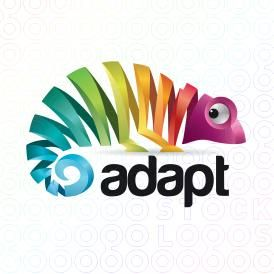 adapt chameleon logo