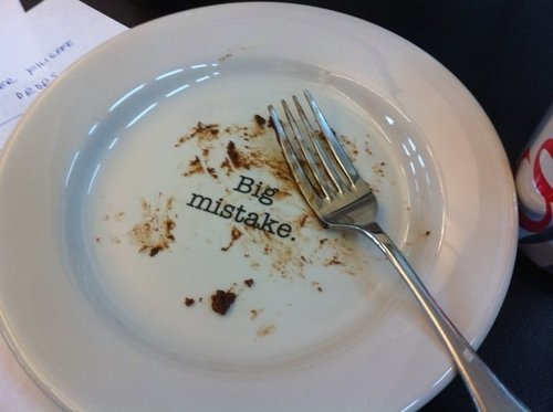 Pretty sure I need to buy a set of these...: Desserts Plates, Cakes Plates, My Plates, Too Funny, Mr. Big, Weightloss, Pottery Studios, Weights Loss, Big Mistakes