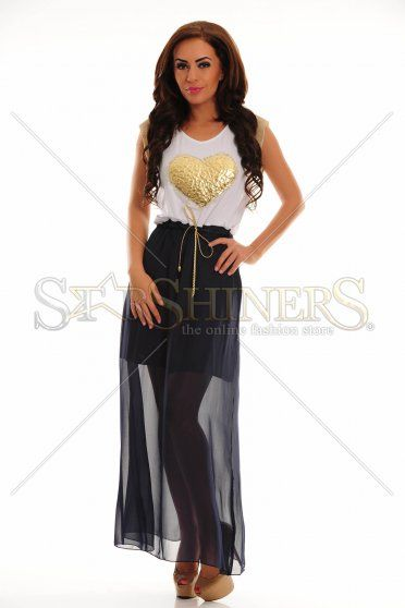 LaDonna Gilded Beauty DarkBlue Dress