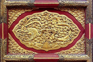 FengHuang, The Vermilion Bird of the South, the Chinese Phoenix. The phoenix (Ancient Greek: Φοῖνιξ, phoínix, Persian: ققنوس, Arabic: العنقاء) is a mythical sacred firebird that can be found in the mythologies of the Persians, Greeks, Romans, Egyptians, Chinese, and (according to Sanchuniathon) Phoenicians.