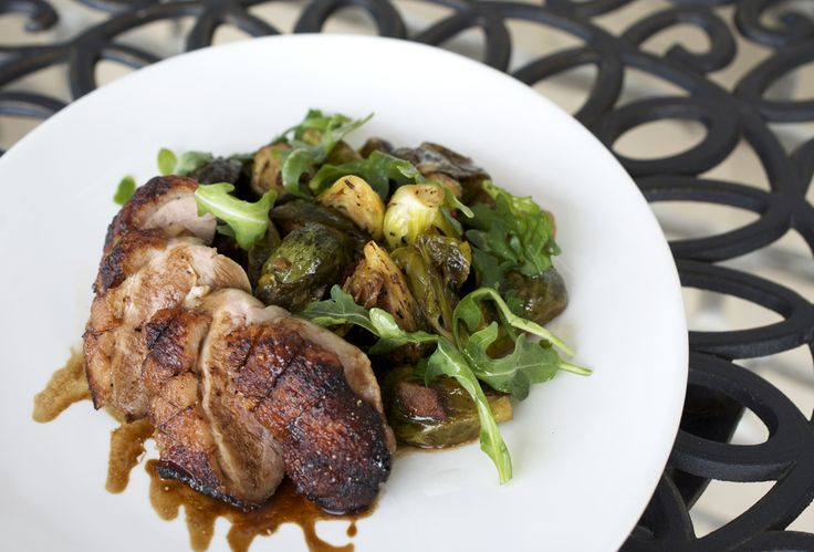 cured duck sprouts recipes duck breast roasted brussels oven roasted ...