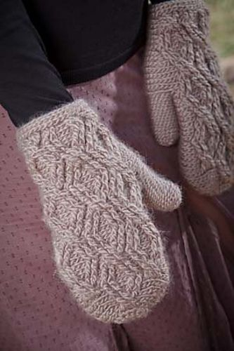 Digory Mittens by Brenda Anderson for Interweave Crochet    http://www.ravelry.com/patterns/library/digory-mittens